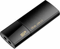 Флешка Flash Drive Silicon Power Blaze B05 16 Gb USB 3.0 Black