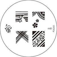 Диск для стемпинга Konad Image Plate M081