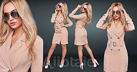 Платье / костюмная ткань / Украина 15-695