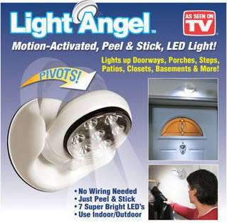 Беспроводной светильник Light Angel 7 LED с датчиком движения, фото 2