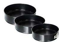Набор разъемных форм для выпечки (3 шт., маленькие)