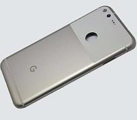 """Задняя крышка для Google Pixel XL M1 5.5"""", серебристая, Very Silver, оригинал"""