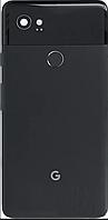 Задняя крышка для Google Pixel 2 XL, черная, Just Black, оригинал
