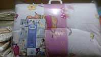 Набор детский демисезонный одеяло и подушка Twins 120х90, белый