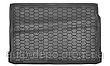 Renault Megane 2 Резиновый коврик багажника Avto-Gumm