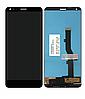 Дисплей (екран) для ZTE Blade V9 + тачскрін, чорний