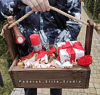 Подарочный набор. Оригинальный подарок для романтического вечера., фото 1