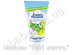 """Зубная паста детская Дракоша """"Bubble gum"""" гелевая от 1 до 8 лет, с кальцием и экстр. ромашки 60мл"""