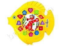 Развивающая игра Часы Рыбка. Kinderway KW-40-001