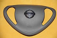 Крышка накладка заглушка в руль на Nissan Leaf gray Airbag SRS