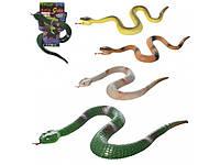 Змея погремушка 25 см. Y16