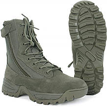 Завышенные ботинки тактические Mi-ltec Two Zips Foliage Grey
