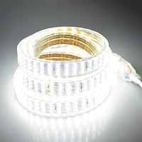 Светодиодная лента трехрядная 12В 270 диодов, 6500К  3528, 5м/упак.