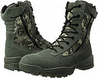 Завышенные ботинки тактические Mi-ltec Two Zips Digital Pixel, фото 1