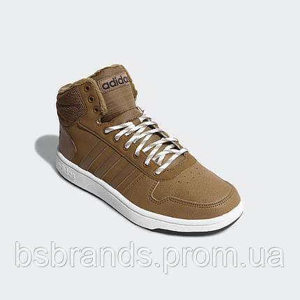 Чоловічі баскетбольні кросівки adidas Hoops 2.0 Mid CG7114, фото 2