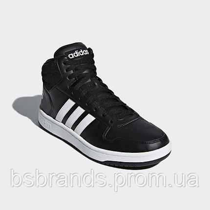 Чоловічі кросівки adidas VS Hoops Mid 2.0 BB7207, фото 2