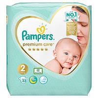 Подгузники Pampers Premium Care 2(4-8кг) 23шт Pampers Польша 89694