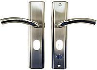 Ручка для металлических дверей FZB - HY-A1805 (1818) SN (сатин), левая дверь