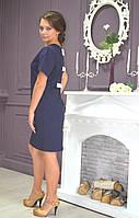 """Молодежное стильное платье большого размера """"Бант"""", фото 1"""