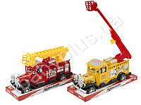 Пожарная машина инерционная Ретро. A006-2