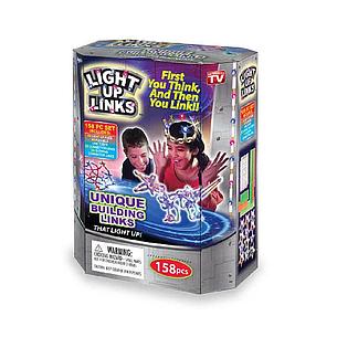 Светящийся конструктор Light up links 158 деталей, конструктор линкс, конструктор для детей, НОВИНКА, фото 2