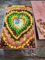 """Оригинальный подарок из сухофруктов """"Сердце"""", фото 1"""