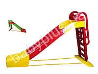 Горка большая для катания детей. TM Doloni Toys 014550-1. (Длина спуска 243 см.макс. нагрузка до 40