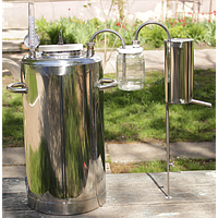 Автоклав-дистиллятор Люкс, для домашнего консервирования/самогоноварения, укомплектован барботером