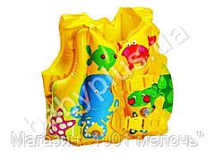 Жилет детский с рыбками Intex 59661