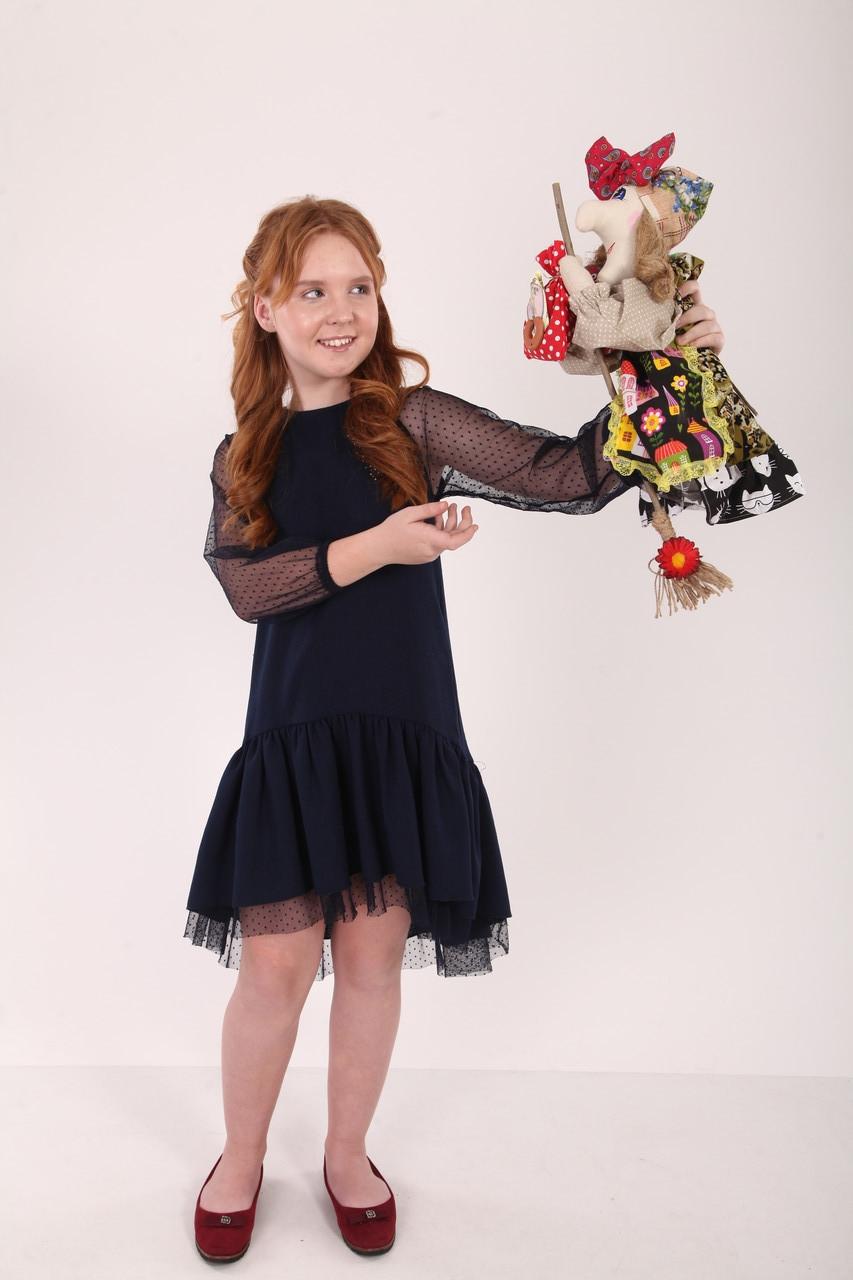 Текстильная кукла Баба-Яга летящая малая