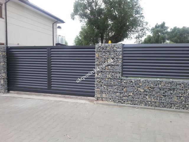 Откатные ворота Киев