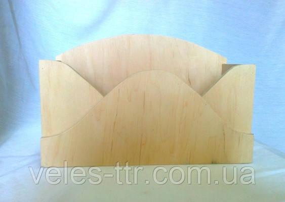 Короб Конверт 26.5х17х11 см фанера заготовка для декора