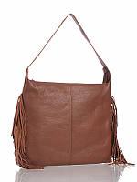 Женская сумка кожаная с бахромой 13500B3