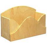 Короб Конверт 26.5х17х11 см фанера заготовка для декора, фото 2
