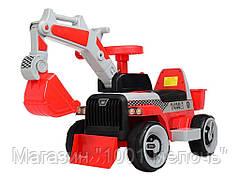 Трактор толокар 2в1. Bambi M 4144L-3