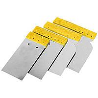 Набор шпателей без рукоятки (нержавеющих) 50, 80, 100, 120мм Sigma (8321571)