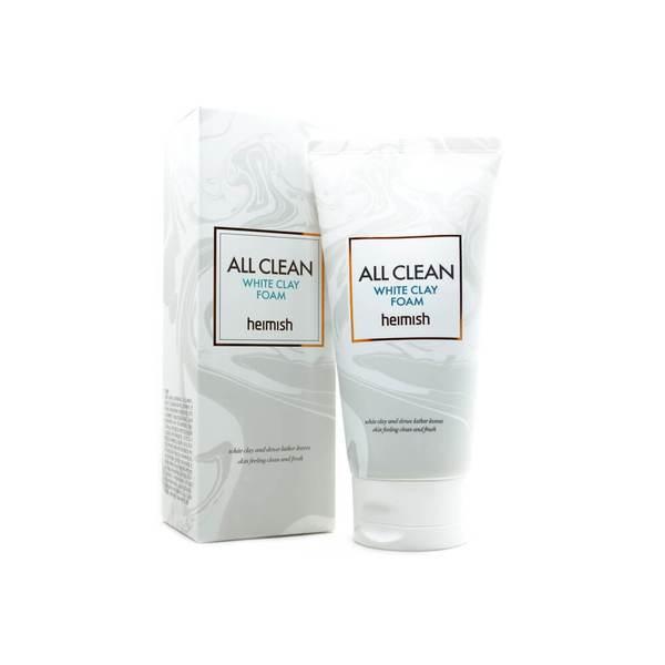 Пенка для очищения кожи с белой глиной Heimish All Clean White Clay Foam 150г