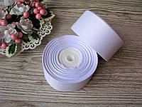 Лента репсовая 4 см, белая, бобина -18 м, цена 51 грн