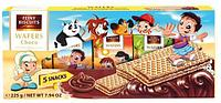 Вафли детские шоколадные Feiny Biscuits Kids-wafers with chocolate cream 225g (5x45g) Австрия