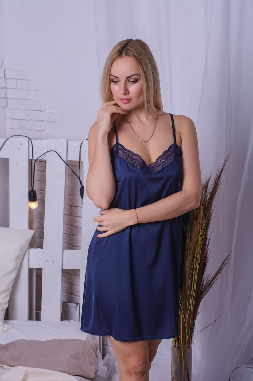 Ночная рубашка MiaNaGreen Н421х Синий