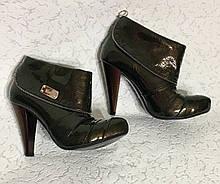Ботильены демисезонные кожаные 36 размер Испания