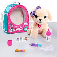 Барби набор доктора сумка и интерактивная собачка Barbie