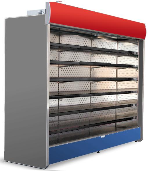 Холодильные стеллажи (регалы, горки)