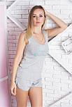 Пижама хлопковая П906 Меланж, фото 3