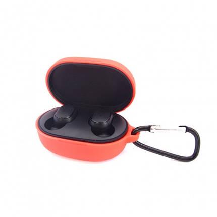 Чехол для наушников Xiaomi AirDots Red, фото 2