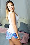 Пижама майка + шорты MiaNaGreen П003 Фламинго, фото 3