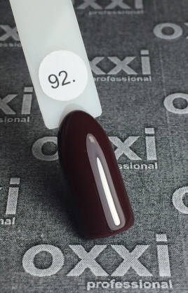 Гель лак Oxxi №092 10 мл, фото 2