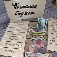 Сімейний бюджет, коробка для грошей.