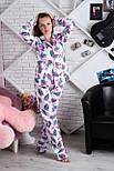Пижама фланелевая П904 Фламинго, фото 4