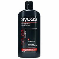 Шампунь Syoss Color Protect 500 мл (для окрашенных и тонированных волос)